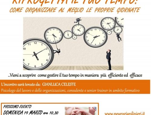 3° Aperi-Cena – Riprogetta il tuo tempo