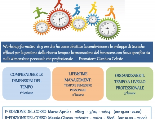 "Percorso formativo ""Time & Life Management"""