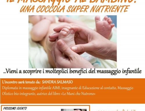 Colazione Culturale – Il massaggio al bambino