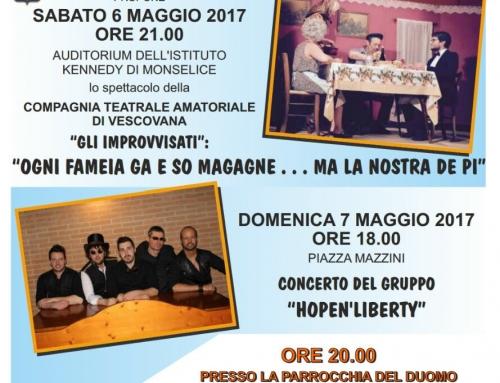 Un sostegno per Bolognola 6-7 maggio 2017