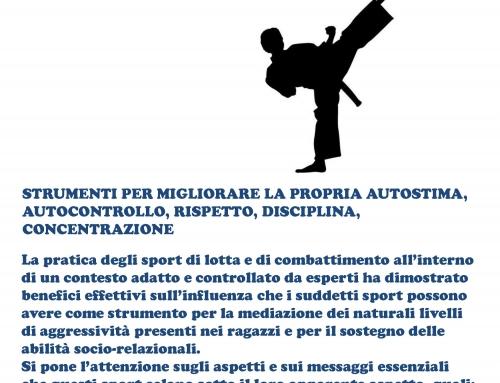 LA VALORIZZAZIONE DELL'AGGRESSIVITA' NEGLI SPORT DA COMBATTIMENTO