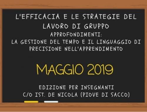 L'efficacia e le strategie del lavoro di gruppo -Formazione per insegnanti