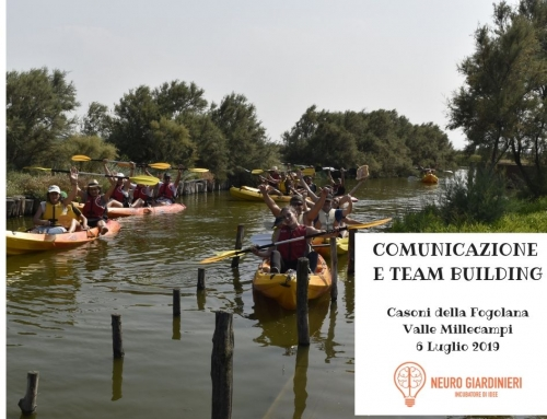COMUNICAZIONE E TEAM BUILDING – 6 LUGLIO 2019