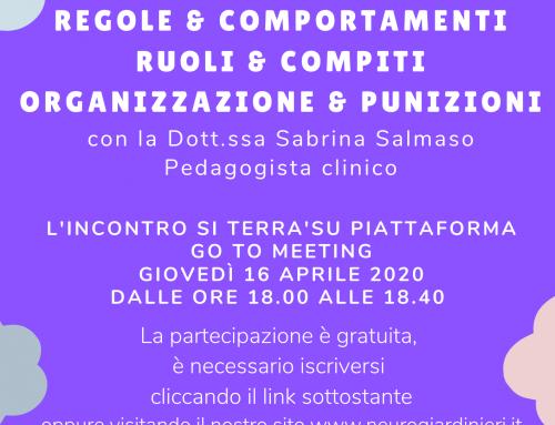 REGOLE&COMPORTAMENTI, RUOLI&COMPITI, ORGANIZZAZIONE&PUNIZIONI