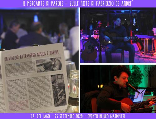 Il Mercante di Parole – sulle note di Fabrizio de Andrè